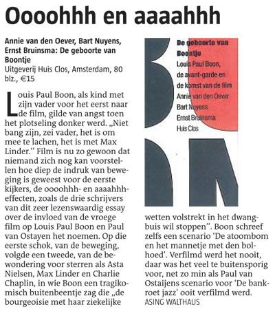 Annie Van Den Oever Bart Nuyens Ernst Bruinsma De border=